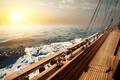 Sailboat in red sea - PhotoDune Item for Sale