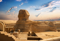 Sphinx and Giza - PhotoDune Item for Sale