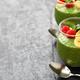 homemade matcha green tea chia seed pudding - PhotoDune Item for Sale