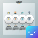 Modern Futuristic Polygon Template - GraphicRiver Item for Sale
