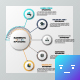 Linear Circular Connection Infographic Template - GraphicRiver Item for Sale