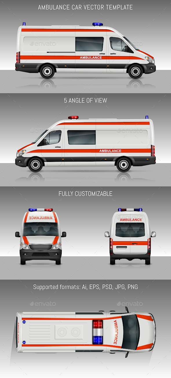 Ambulance Car - Man-made Objects Objects