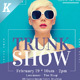 Trunk Show Flyer Templates - GraphicRiver Item for Sale