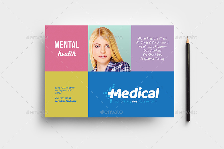 Modern Medical Flyer Template By Brandpacks Graphicriver
