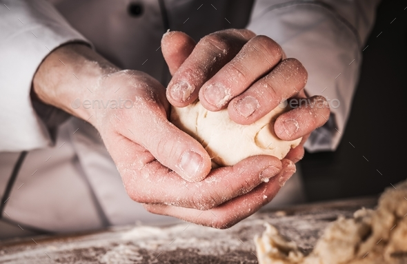 Bread Rolls Making - Stock Photo - Images