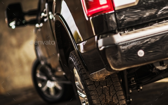 Modern Pickup Truck - Stock Photo - Images