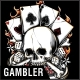 Gambler T-Shirt Design - GraphicRiver Item for Sale