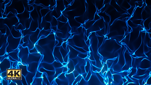 Abstract flame background blue 4k by xpectrum videohive play preview video voltagebd Images