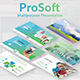 ProSoft Business Multipurpose Google Slide Template - GraphicRiver Item for Sale