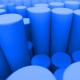 Blue Cylinders Loop - VideoHive Item for Sale