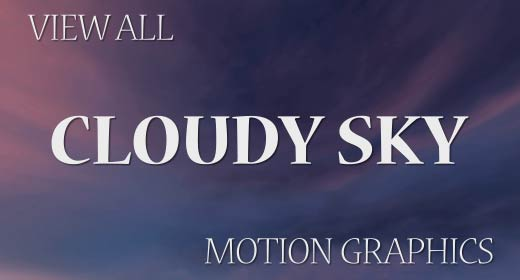 Cloudy Sky Motion Graphics
