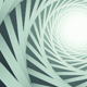 White Spiral Tunnel - VideoHive Item for Sale