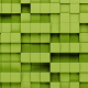 Green Cubes Motion Loopable - VideoHive Item for Sale