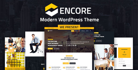 Image of Encorefly - Modern WordPress Theme