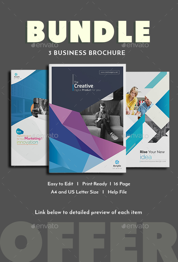 Bundle - Brochure - Corporate Brochures