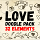 Love Doodle Pack - VideoHive Item for Sale