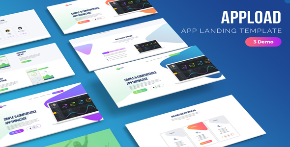 Appload - App Landing Template - Software Technology