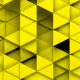 Yellow Triangles Background Random Loop - VideoHive Item for Sale