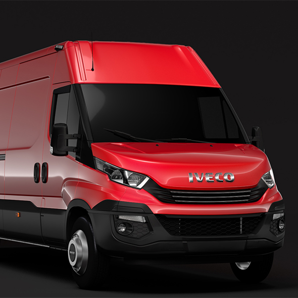 Iveco Daily Van L4H2 2017 - 3DOcean Item for Sale