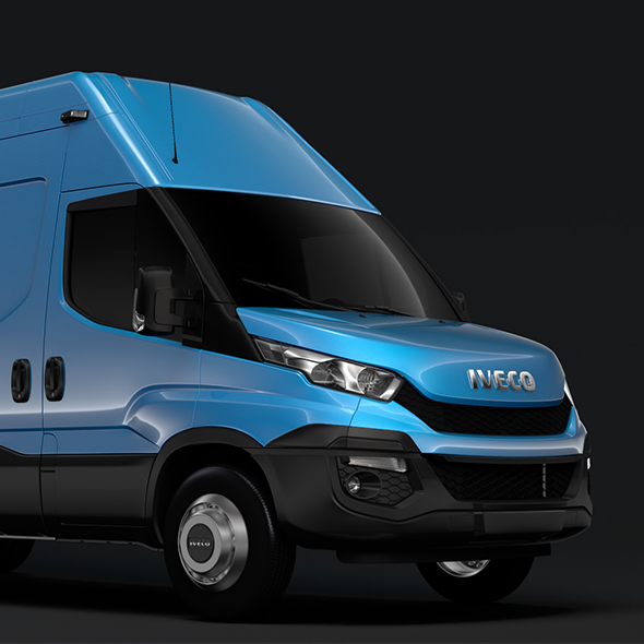 Iveco Daily Van L4H3 2014-2016 - 3DOcean Item for Sale