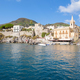 Lipari town seen from the sea - PhotoDune Item for Sale