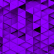 Purple Triangles Background Random Loop - VideoHive Item for Sale