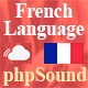 French Language for phpSound - Music Sharing Platform v3.0.0