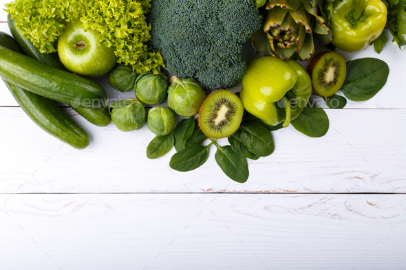 Green vegetables - Stock Photo - Images