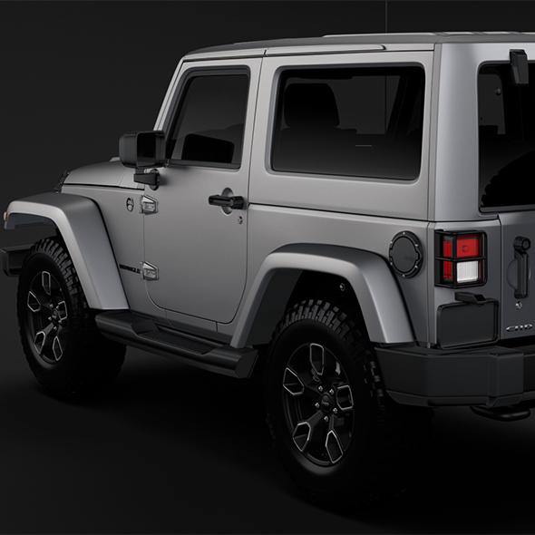 Jeep Wrangler Smoky Mountain JK 2017 - 3DOcean Item for Sale
