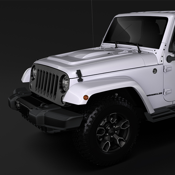 Jeep Wrangler Unlimited Smoky Mountain JK 2017 - 3DOcean Item for Sale