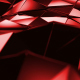 Red Polygonal Geometric Surface Loop - VideoHive Item for Sale
