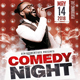 Comedy Show Open Mic Flyer Template - GraphicRiver Item for Sale