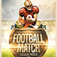 Football Match Flyer - GraphicRiver Item for Sale