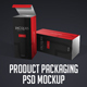 Product Packaging PSD Mockup - GraphicRiver Item for Sale