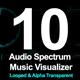 10 Audio Spectrum Music Visualizer - VideoHive Item for Sale