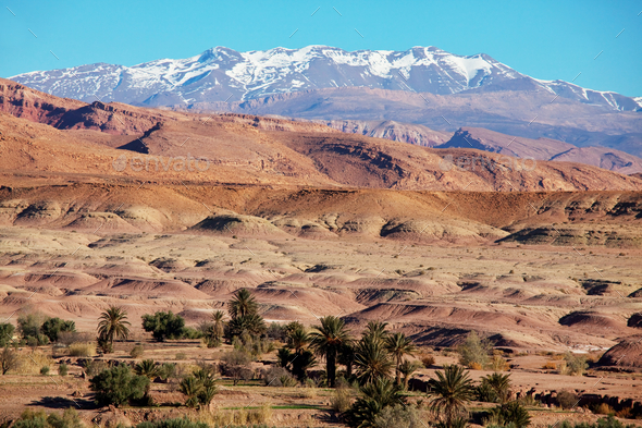 Mountains in Morocco - Stock Photo - Images