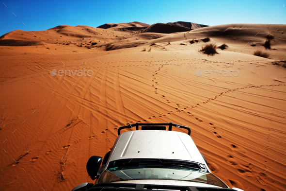 Car in expedition - Stock Photo - Images