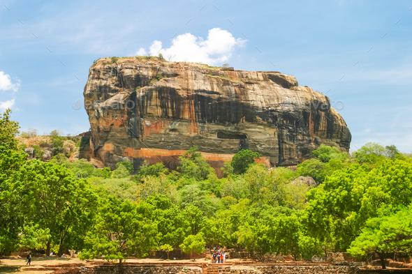 Sigiriya Rock Fortress - Stock Photo - Images