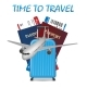 Air Travel International Vacation Concept - GraphicRiver Item for Sale
