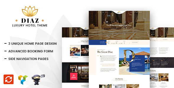 Image of Hotel Diaz - Hotel Booking Theme