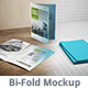 Bi-fold Brochure Mock-up 1 - GraphicRiver Item for Sale