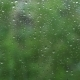 Rain Water Drops on a Window Glass - VideoHive Item for Sale