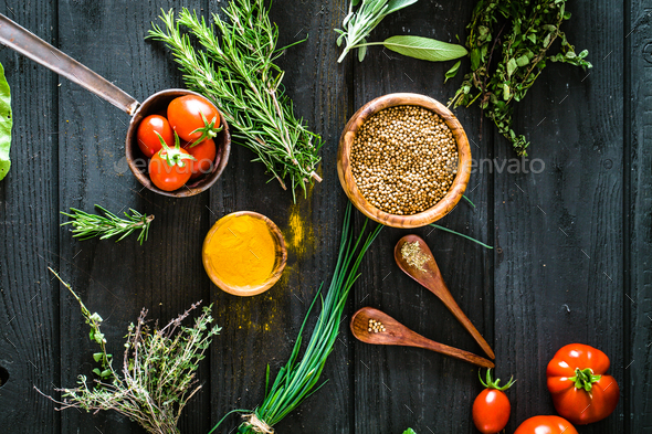 Herbs - Stock Photo - Images