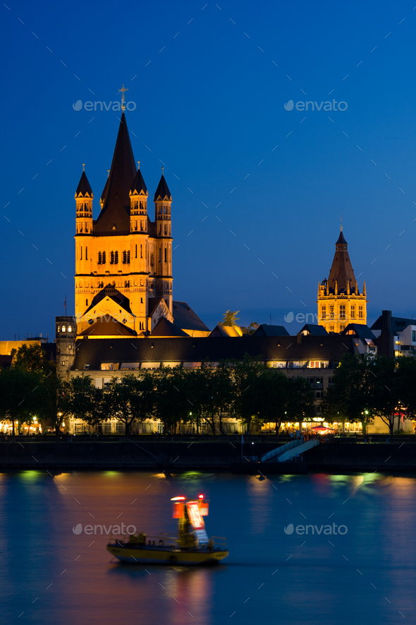 Great St. Martin Church, Cologne - Stock Photo - Images