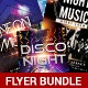 Disco Music Flyer Bundle