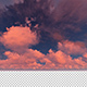 Moving Clouds Sunset - VideoHive Item for Sale