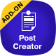 Post Creator for ARForms