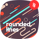 Motion of Rounded Lines Backgrounds