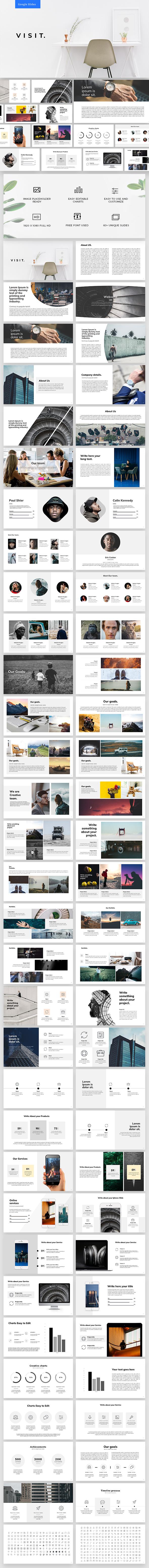 Visit Google Slides - Google Slides Presentation Templates