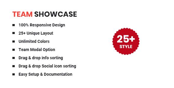 Team Showcase - WordPress Team Plugin
